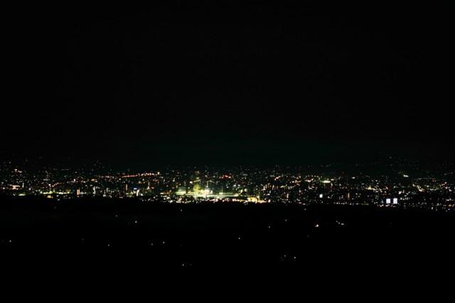 片曽根山_夜景