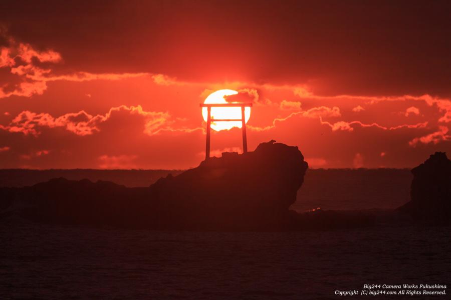 20150102_波立海岸日の出