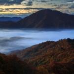 2015-10-17_レイクライン紅葉雲海秋元湖