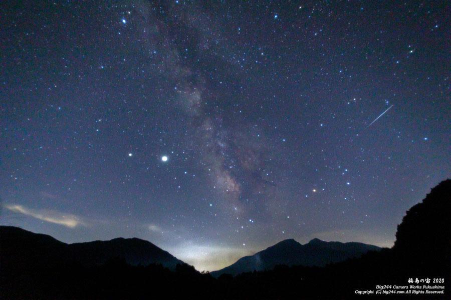 2020-08-20_秋元湖さそり座天の川流星